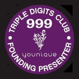 Presentadora Fundadora del Club Triple Dígito