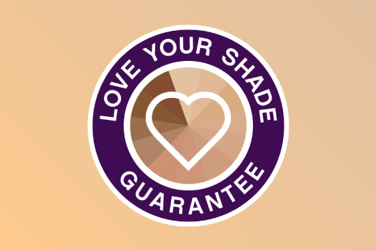Love Your Shade Guarantee