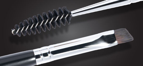 Experience the new spoolie brush